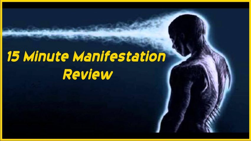 15 Minute Manifestation by Eddie Sergey