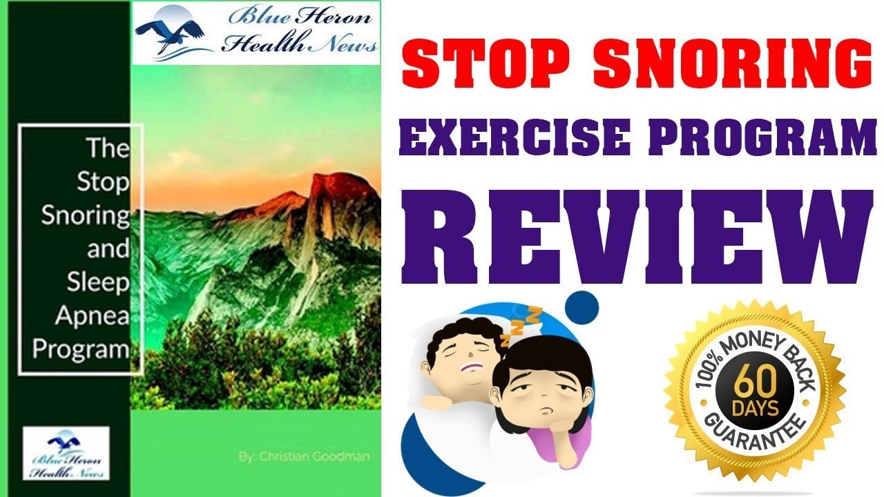Read Stop Snoring and Sleep Apnea Program